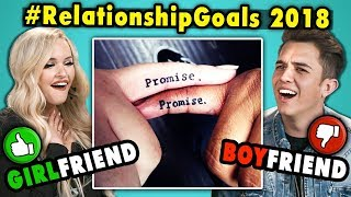 10 Relationship Goals From 2018 Reviewed By Couples | The 10s (React) MP3