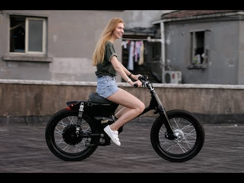 Honda eCUB Electric motorcycle By Shanghai Customs - Top Speed 80 Km/H