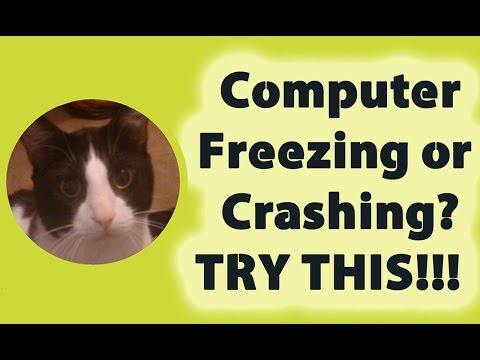 Computer Freezing or Crashing? TRY THIS!!!