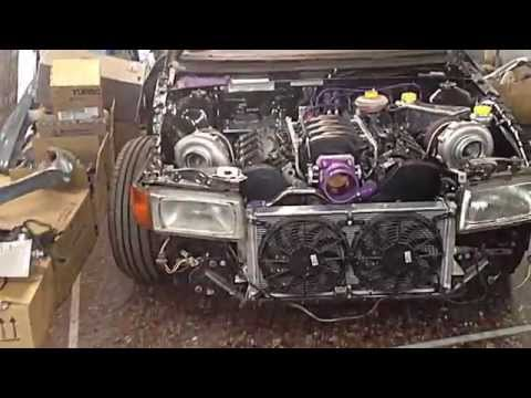 Audi 80 4.2 V8 BiTurbo AWD Turbo Speed Extreme Tuning Thessaloniki
