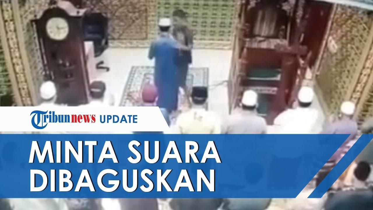Pengakuan Imam Masjid yang Ditampar saat Pimpin Salat, Pelaku Protes Suara Korban Mengaji Tak Bagus