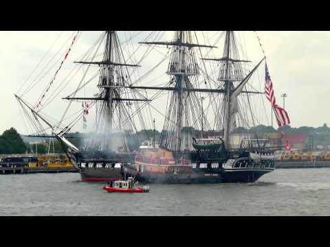 USS Constitution July 4, 2012