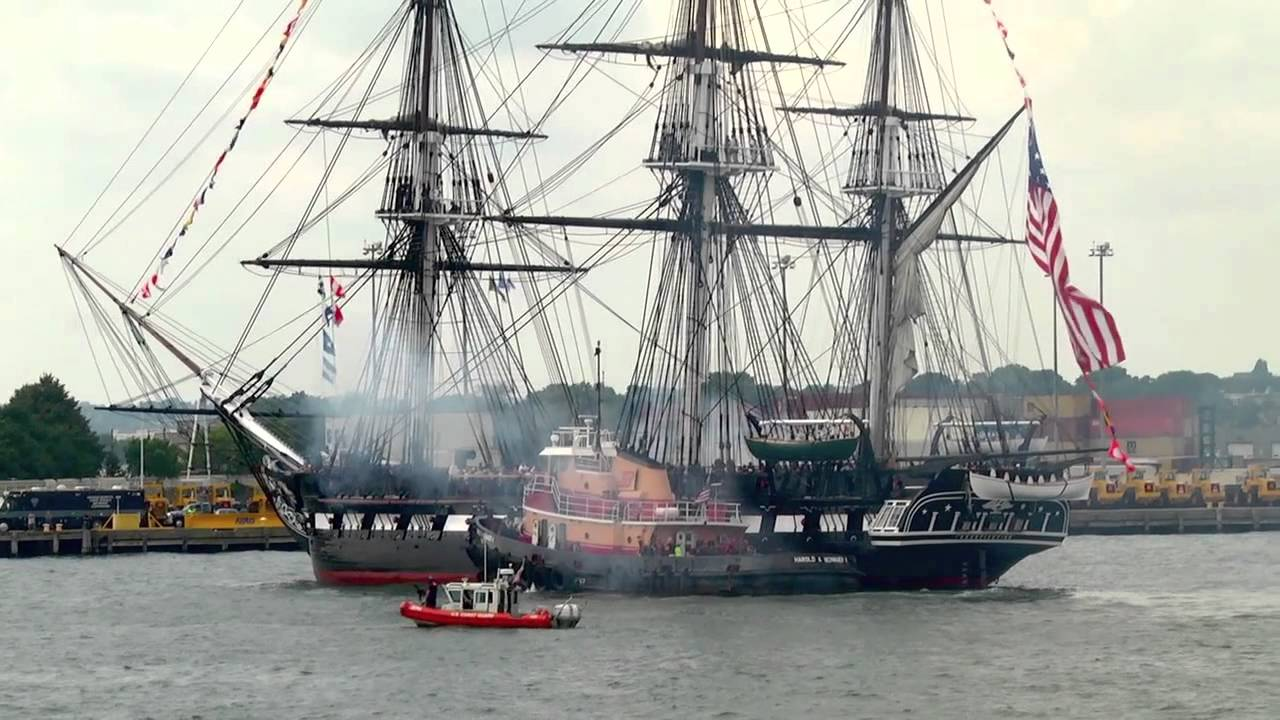 USS Constitution July 4, 2012 - YouTube