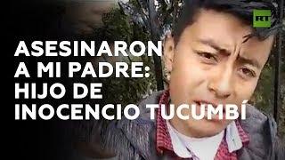 Hijo de indígena asesinado relata la muerte de su padre a manos de la Policía en Ecuador | RT Play