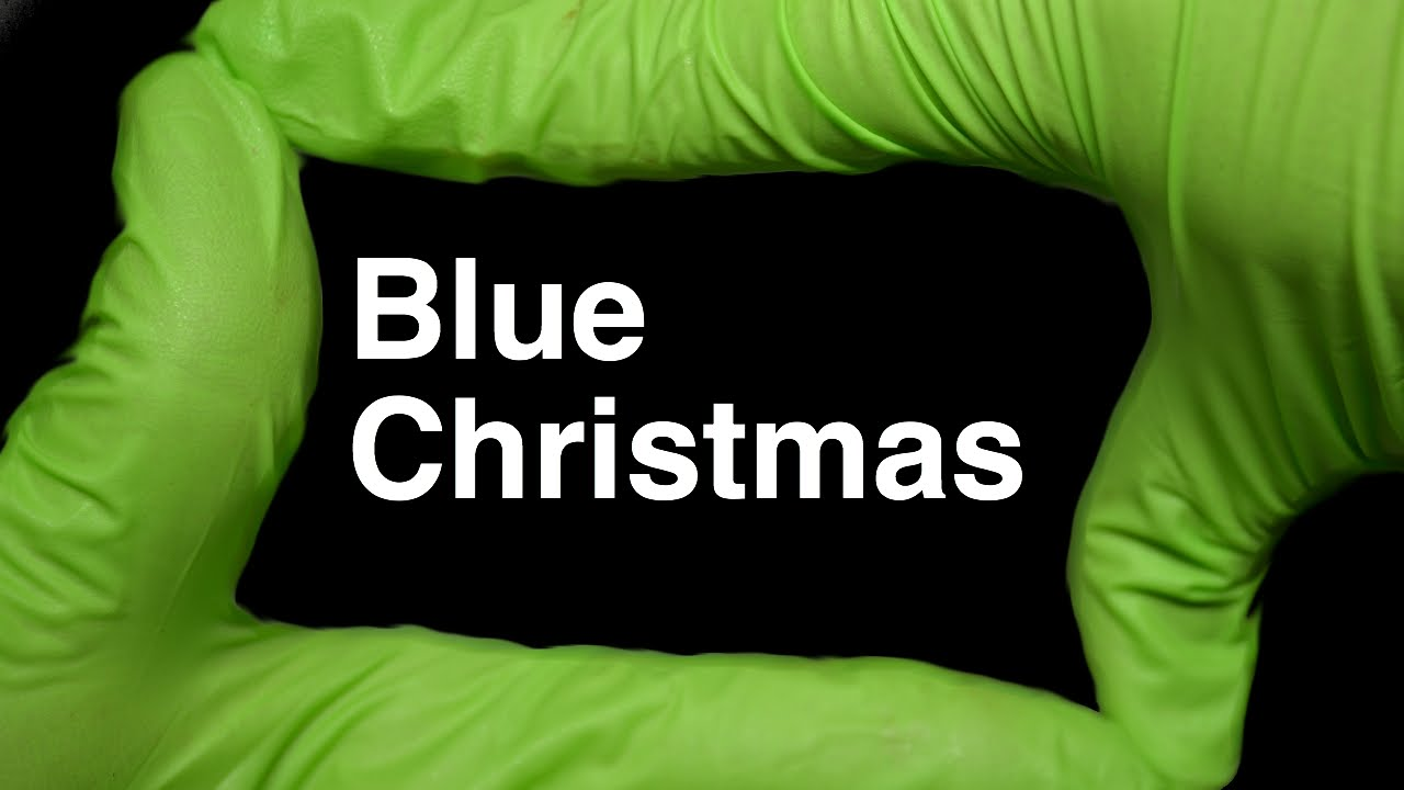 Blue Christmas Elvis Presley by Runforthecube Christmas ...