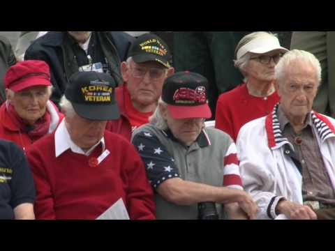 Cupertino Veterans Day Ceremony 2016