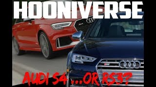 Which would you choose: the audi s4 or the audi rs3?