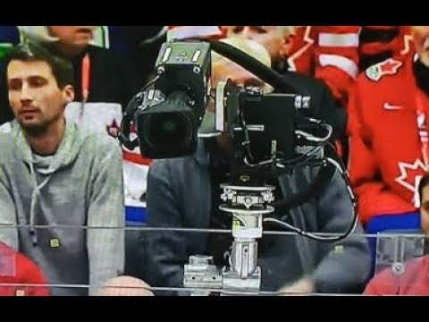 The TSN Camera Saves Canada From A Penalty Late In The Gold Medal Game