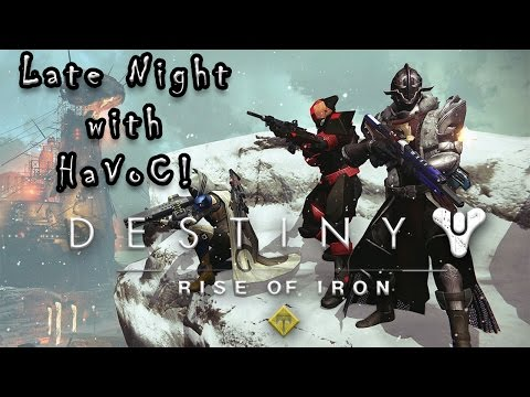 Late Night with HaVoC! // Crucible with Followers! (Twitch Archive)
