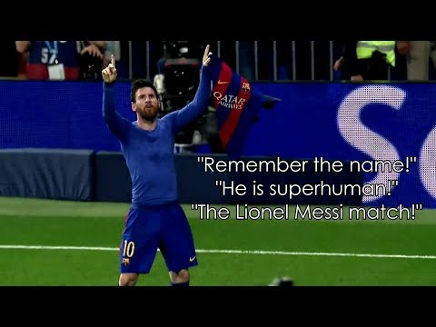 Lionel Messi ft. Rob Palmer ● Iconic Commentaries | HD