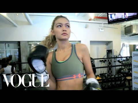 Box Like a Supermodel: Inside Gigi Hadid's Body-Sculpting Workout – Vogue