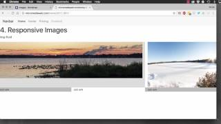 Bootstrap 4: images thumbnail