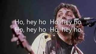 Mrs  Vandebilt Paul McCartney & Wings Lyrics