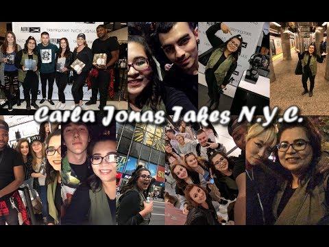 Carla Jonas Takes NYC VLOG   Nick Jonas x Altec Lansing