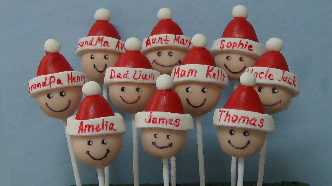 Easy Christmas Cake Pops Ideas