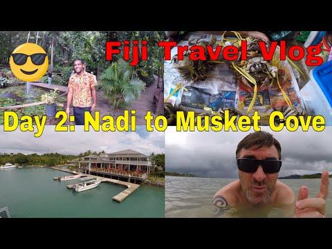 Fiji Travel Vlog Day 2: Discover Nadi Tour / Malolo Cat To Musket Cove Resort - Malolo Island