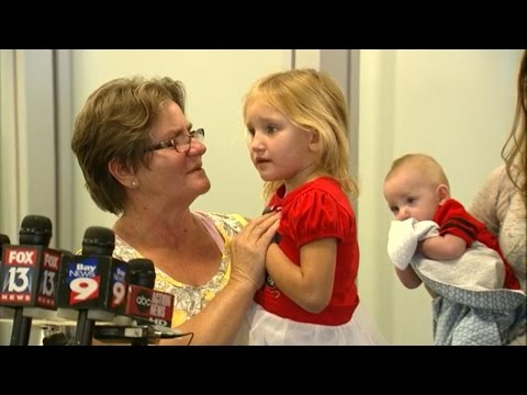 Rescued 4-Year-Old Florida Girl Reunited With Family