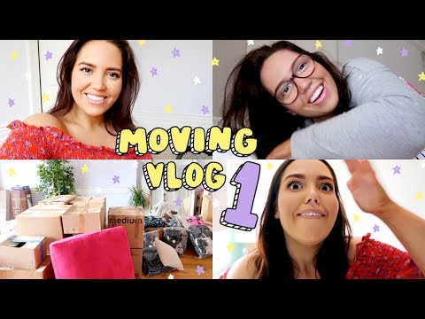 MOVING INTO MY NEW APARTMENT! 🏡