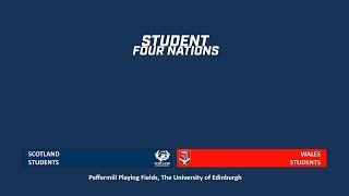 Scotland v Wales- Student Rugby League Four Nations 2019 - Round 4