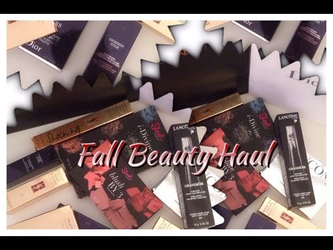 Fall Beauty Haul and Subbie Mail Unboxing