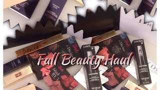 Fall Beauty Haul and Subbie Mail Unboxing Thumbnail