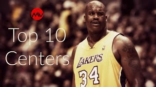 Top 10 NBA Centers of All Time thumbnail