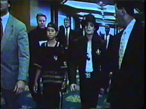 Michael Jackson  visit in Tokyo Japan 1998, press conference