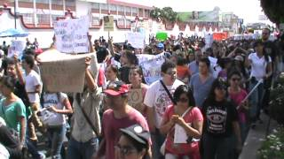 """Más de 5 mil personas en """"Megamarcha anti fraude EPN"""" 3"""