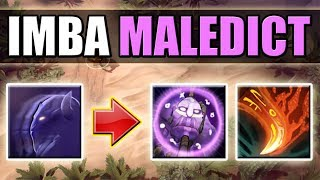 Invisible Full HP Kill Combo [Maledict + Life Break] Invisible = Invulnerable | Dota 2 Ability Draft