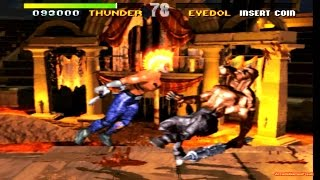 Killer Instinct arcade - Chief Thunder 60FPS Gameplay Playthrough