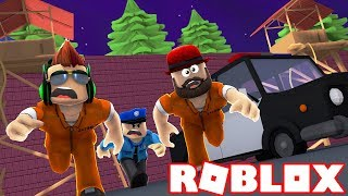 LIFE IS HARD IN PRISON! WE HAVE TO ESCAPE! ROBLOX JAILBREAK RECRUITING SQUAD
