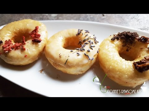 VEGAN DONUTS ANYONE??  | Connie's RAWsome kitchen | OR A PIZZA CRUST??