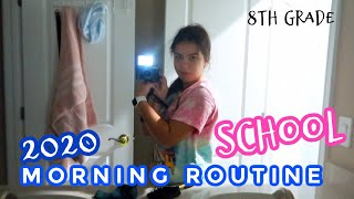 My Real School Morning Routine 2020 / 8th grade | IT'S ME ALI