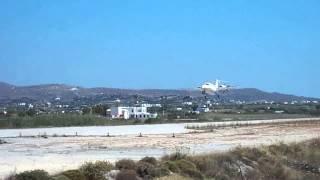 Piaggio P180 Avanti Naxos airport