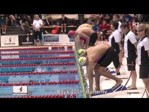 heat 36 - Boys 200m Butterfly