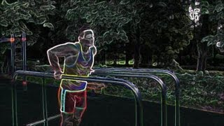 Отжимания на брусьях. Правильная техника выполнения упражнения. Обучающее видео