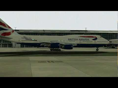 British Airways ⎮ London - Nairobi [FS2004]