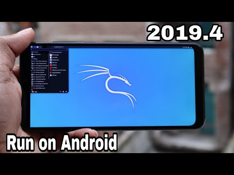 [New Method] Run K@li Linux 2019.4 On Android Phone.!! [Official Method With All Tools]