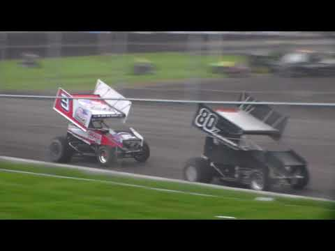 305 Sprint Car Heat 2 @ Boone Speedway 05/05/18