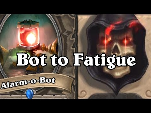 Bot to Fatigue ~ Druid Tauntage Decklist VS Paladin ~ Hearthstone Heroes of Warcraft ~ BlackRock Mou