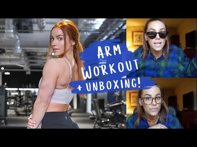 Upper Body Workout at Gymshark Lifting Club + MVMT Unboxing