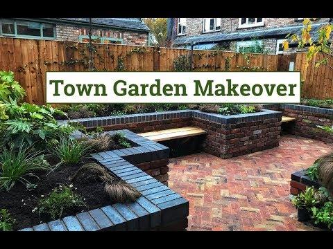 Town Garden Makeover - Garden Design Ideas