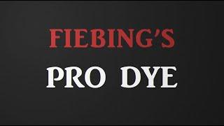 Vídeo: Pro oil dye Fiebing's 4oz (118 ml)