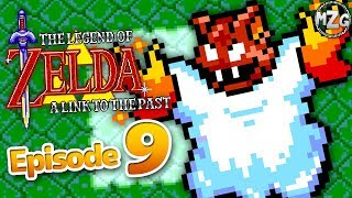 The Legend of Zelda: A Link to the Past Gameplay Part 9 - Titan's Mitt! Gargoyle's Domain!