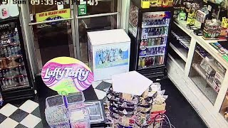 Caught on Camera: Gas station robbery