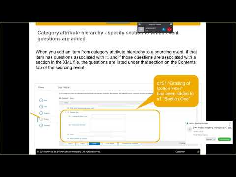 New Features In 2019 Q3 Releases For SAP Ariba Strategic Sourcing Suite (EMEA)
