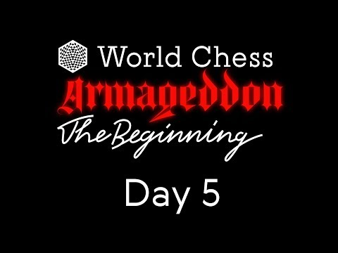 World Chess Armageddon 2019 Day 5