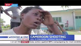 Gunmen storm primary school in Cameroon killing six children on the spot, leaving scores injured
