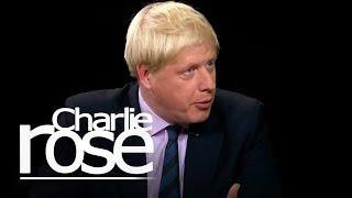 Boris Johnson   Charlie Rose