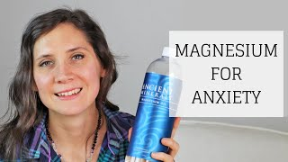 MAGNESIUM FOR ANXIETY | NATURAL ANXIETY RELIEF // It's true! There is a safe, natural, and inexpensive way to get fast relief from anxiety, without drugs ...